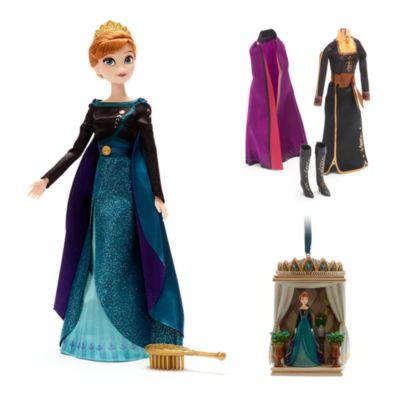 Collezione bambola e decorazione da appendere Anna Frozen 2: Il Segreto di Arendelle Disney Store
