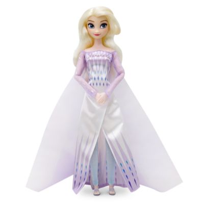 Muñeca clásica Elsa, la Reina de las Nieves, Frozen2, Disney Store