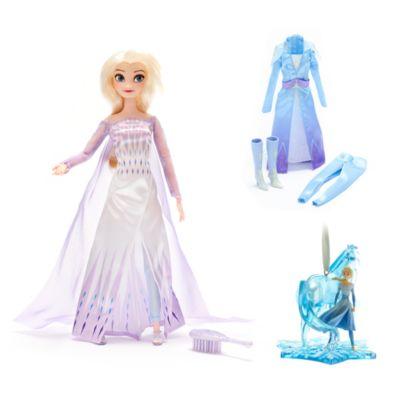 Collezione bambola e decorazione da appendere Elsa Frozen 2: Il Segreto di Arendelle Disney Store