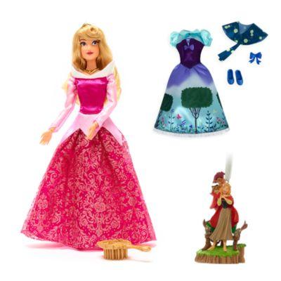 Promoción bundle muñeca y adorno Aurora, La Bella Durmiente, Disney Store