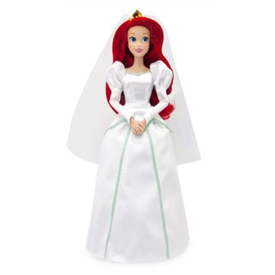 Disney Store Ariel Wedding Doll, The Little Mermaid