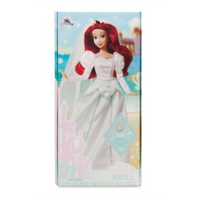 Muñeca boda Ariel, La Sirenita, Disney Store