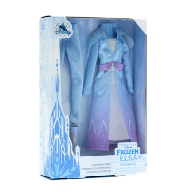 Disney Store - Die Eiskönigin - völlig unverfroren - Accessoire-Set für die klassische Elsa Puppe