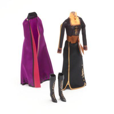 Disney Store Coffret d'accessoires Poupée classique Anna, La Reine des Neiges