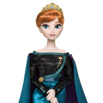 Disney Store Queen Anna and Elsa the Snow Queen Dolls, Frozen 2