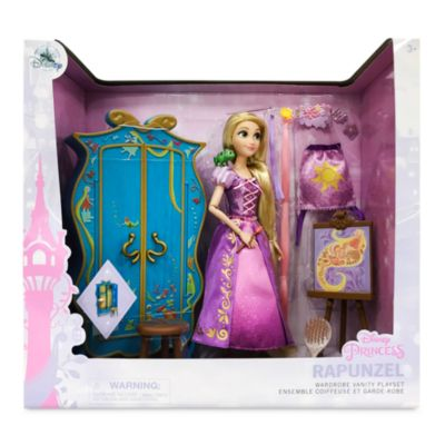 Disney Store Ensemble coiffeuse et garde-robe de Raiponce