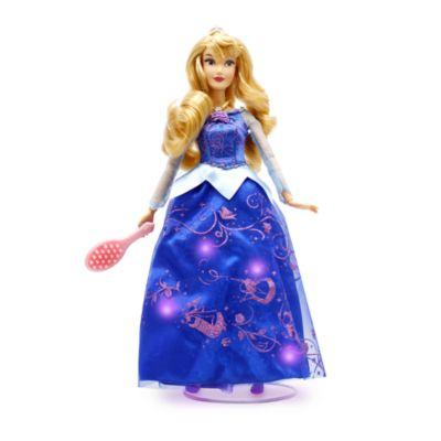 Muñeca exclusiva Aurora con vestido luminoso, Disney Store