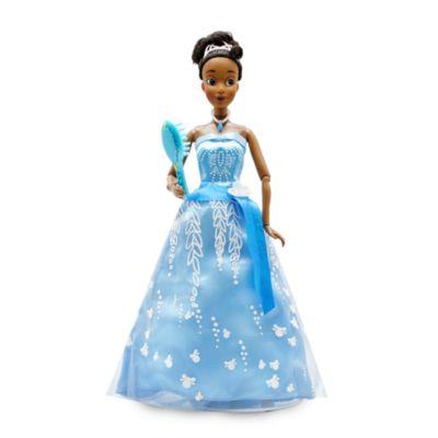 Disney Store Poupée Tiana Premium avec robe lumineuse