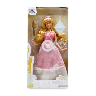 Bambola Premium Cenerentola con abito luminoso Disney Store