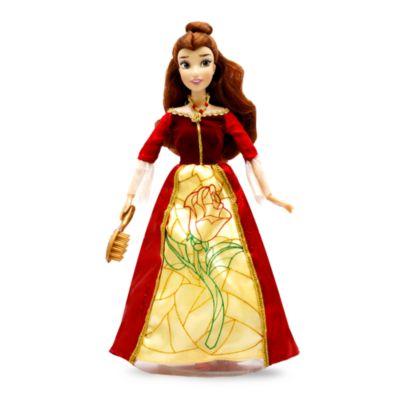 Disney Store - Belle - Hochwertige Puppe in einem Kleid mit Leuchteffekt