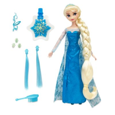 Disney Store Elsa Hair Play Doll, Frozen