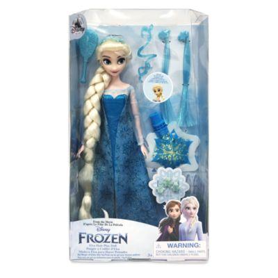 Disney Store Poupée à coiffer Elsa, La Reine des Neiges
