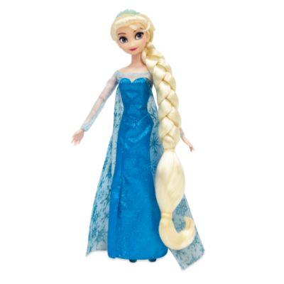 Muñeca para peinados Elsa, Frozen: El Reino de Hielo, Disney Store