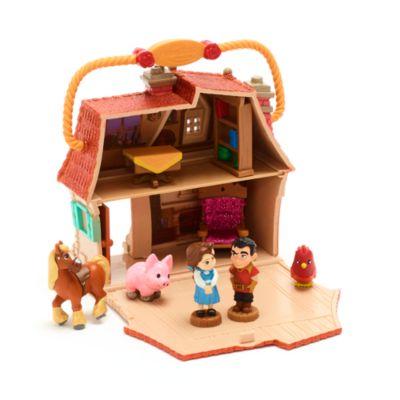 Set di personaggi cottage Belle collezione Disney Animators Littles Disney Store
