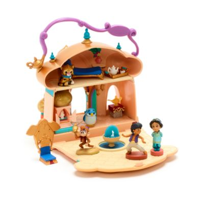 Disney Store Princess Jasmine Palace Playset, Disney Animators' Collection Littles