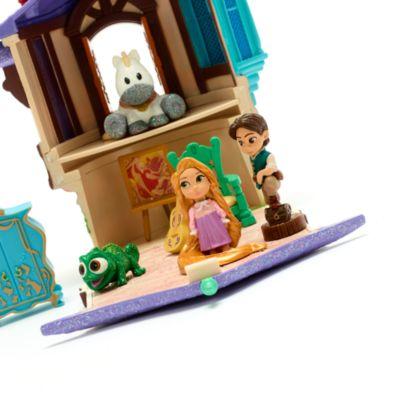 Disney Store Rapunzel Tower Playset, Disney Animators' Collection Littles