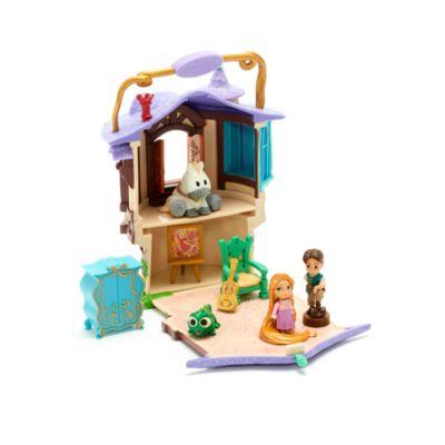 Set di personaggi torre Rapunzel collezione Disney Animators Littles Disney Store