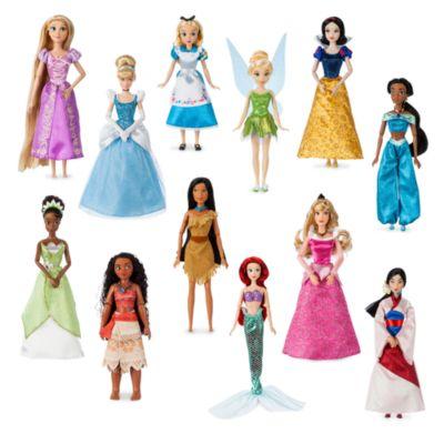 Set regalo muñecas princesas Disney, Disney Store (12u.)