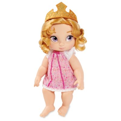Disney Store Poupée d'Aurore bébé, collection Disney Animators
