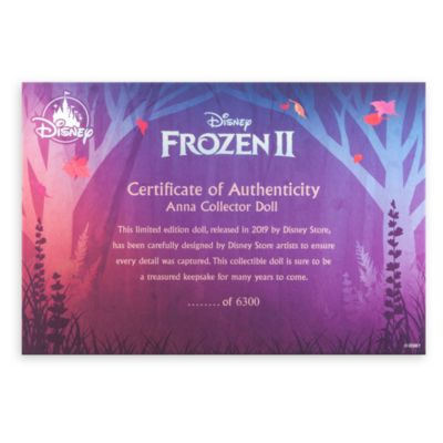 Disney Store Poupée Anna en édition limitée, La Reine des Neiges2