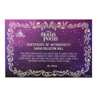 Disney Store Poupée Sarah en édition limitée, Hocus Pocus