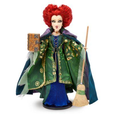 Muñeca edición limitada Winifred, El Retorno de las Brujas, Disney Store