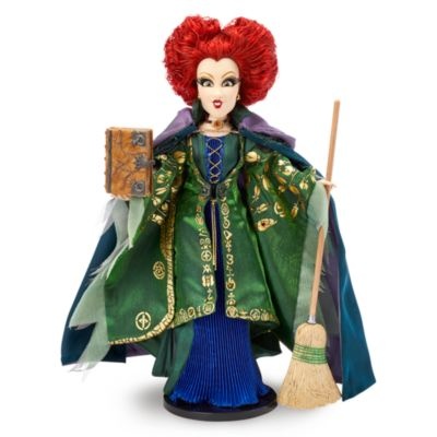 Disney Store Winifred Limited Edition Doll, Hocus Pocus