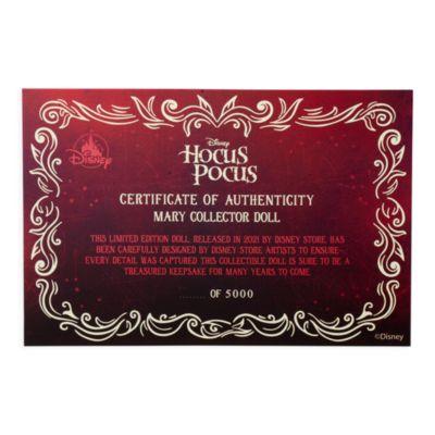 Disney Store Poupée Mary en édition limitée, Hocus Pocus