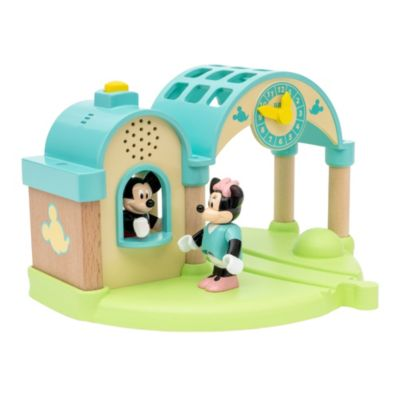 Brio Gare à enregistreur vocal Mickey et Minnie Record