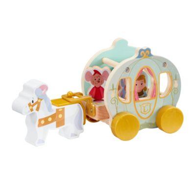 World of Wood Cinderella's Wooden Pumpkin Carriage
