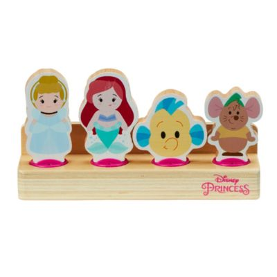 World of Wood Cinderella and The Little Mermaid Wooden Toys
