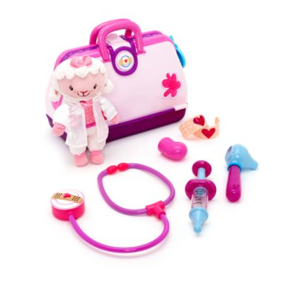 Disney Store – Doc McStuffins, Spielzeugärztin – Arztspielzeug mit Lammie