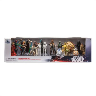 Disney Store Star Wars Mega Figurine Playset