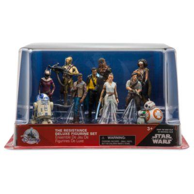 Set da gioco personaggi deluxe La Resistenza Star Wars Disney Store
