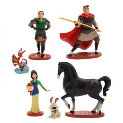 Set de juego de figuritas Mulán, Disney Store