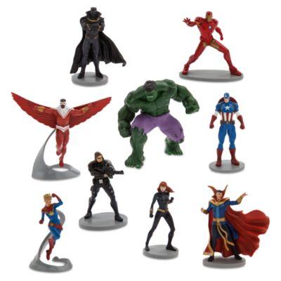 Disney Store Coffret deluxe de figurines Comics Avengers