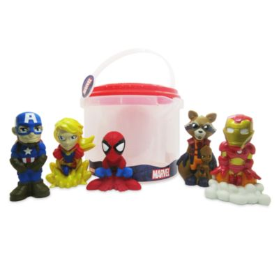 Disney Store Avengers Bath Toy Set