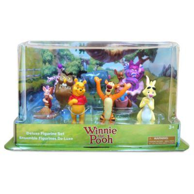 Disney Store Winnie the Pooh Deluxe Figurine Playset