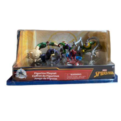 Set juego figuritas lujo Spider-Man, Disney Store