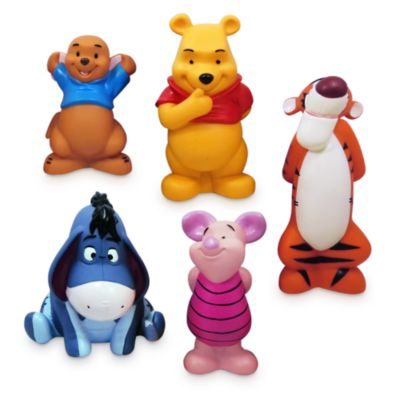 Set juguetes baño Winnie The Pooh, Disney Store