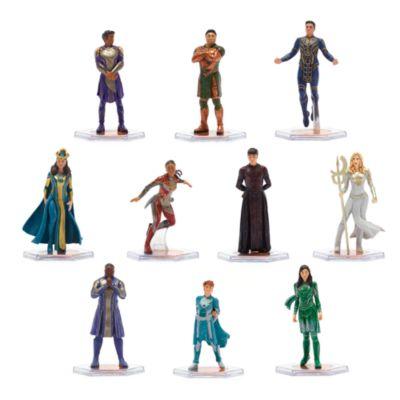 Set juego figuritas lujo Eternals, Disney Store