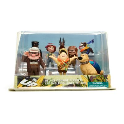 Set juego figuritas lujo Up, Disney Store