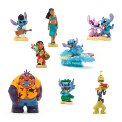 Disney Store Lilo and Stitch Deluxe Figurine Playset