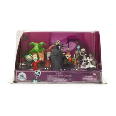 Disney Store The Nightmare Before Christmas Deluxe Figurine Playset