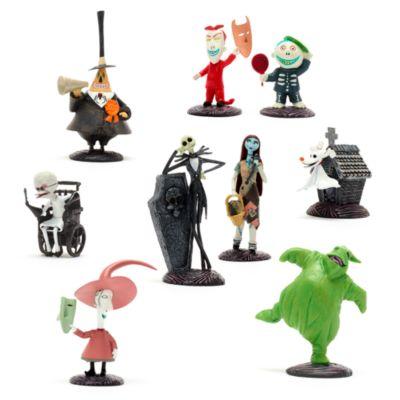 Set di personaggi deluxe Nightmare Before Christmas Disney Store