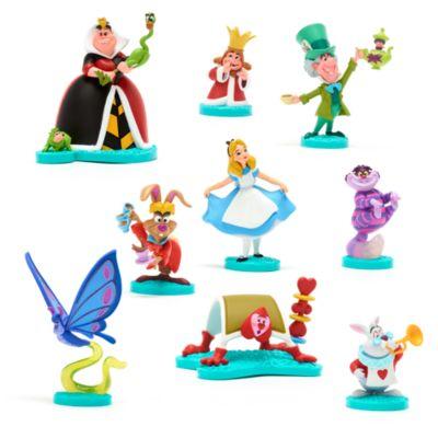 Disney Store Coffret deluxe de figurines Alice au Pays des Merveilles édition limitée Mary Blair