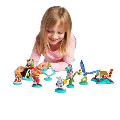 Disney Store Alice in Wonderland Mary Blair Deluxe Figurine Playset