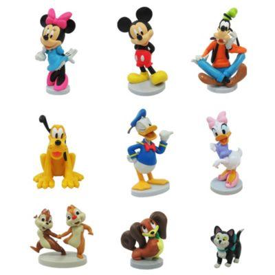 Set di personaggi Deluxe Topolino e i suoi amici Disney Store
