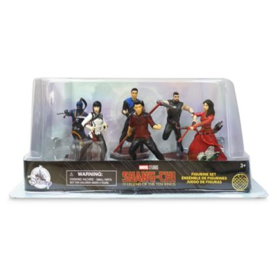 Disney Store - Shang-Chi and the Legend of the Ten Rings - Figurenspielset