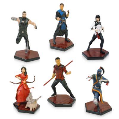 Set juego figuritas Shang-Chi y la leyenda de los Diez Anillos, Disney Store
